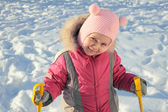 The young skier — Stock Photo