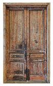 Very old door — Stock Photo