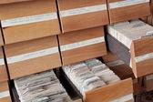 Cataloging — Stock Photo