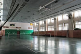 Empty sports hall — Stock Photo