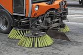 Cleaning of streets — Stock Photo
