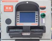 Cash dispense — Stock Photo