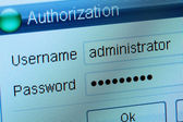 Authorization — Stock Photo