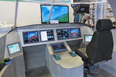 Information control prospective aircraft — Stock Photo
