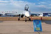 The Sukhoi Su-27 (NATO reporting name: Flanker) — Stock Photo