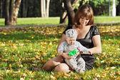 Mãe feliz — Foto Stock