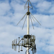 Stock Photo: Antennconnection of military purpose