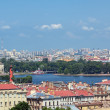 St. Petersburg, top view — Stock Photo