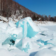 Ice hummocks — Stock Photo