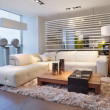The living room - Stockfoto