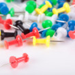 Push pins — Stock Photo