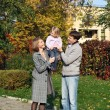 Happy family — Stockfoto #18717505