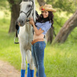 Horsewoman — Stock Photo #18717707