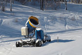 Snowmaking — Foto Stock