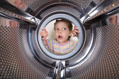 Surprised child — Stock Photo