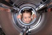 Washing machine — Stock Photo