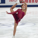 Постер, плакат: Ksenia Makarova Russian American figure skater