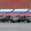 Stock Photo: Rehearsal of parade of victory