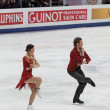 Fabian Bourzat and Nathalie Pechalat - Photo