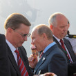 Vladimir Putin and Sergei Ivanov — Stock Photo
