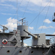 The old military ship — Stock Photo