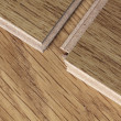 Laminate flooring — Stock Photo