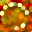 Background of colorful light blurs — Stock Photo