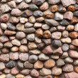 The texture of stone walls — Stock Photo