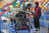 The video operator — Stock Photo