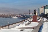 Irkutsk, a city landscape — Stock Photo