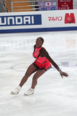 Mae Berenice MEITE, French figure skater — Stock Photo