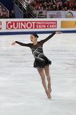 Yuna Kim, Korean figure skater — Stock Photo