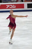 Ksenia Makarova, Russian-American figure skater — Stock Photo
