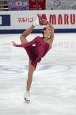 ксения макарова, российско американская фигуристка — Стоковое фото