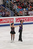 Greg Zuerlein and Madison Chock — Stock Photo