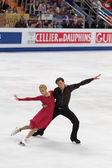 Ekaterina Bobrova and Dmitri Soloviev — Stock Photo