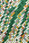 Texture from a multi-colored small tile — Stock Photo