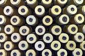 Machine-gun tapes — Stock Photo