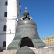 The Tsar bell (also known as the Tsarsky Kolokol, Tsar Kolokol I — Stock Photo