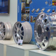 Stock Photo: Alloy wheels