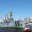 "Cruiser ""Aurora"", Saint-Petersburg — Stock Photo"