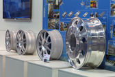 Alloy wheels — Stock fotografie