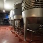 Fermentation department — Stock Photo