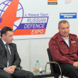 Постер, плакат: Igor Kholmanskikh and Dmitry Rogozin