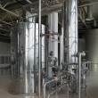 Brewing production - brewhouse, vacuum-evaporator, the interior - Stock Photo