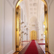 Entrance doors in Georgievsky hall - Stockfoto