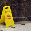 Caution wet floor — Stock Photo #24332543