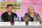 Alexei Nemov and Valentina Rodionenko — Stock Photo