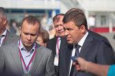 Evgeny kuyvashev e vadim badekha — Foto Stock