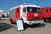 Fire tank truck — Stock Photo